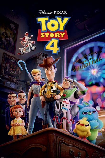Toy Story 4 Antique Shop Anarchy 61x91,5cm Movie Poster